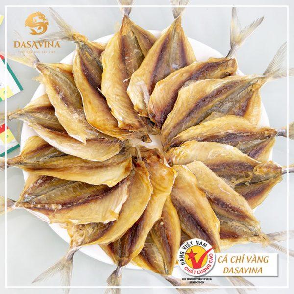 Hình ảnh cá chỉ vàng thương hiệu Bá Kiến - Đặc sản cao cấp, chất lượng