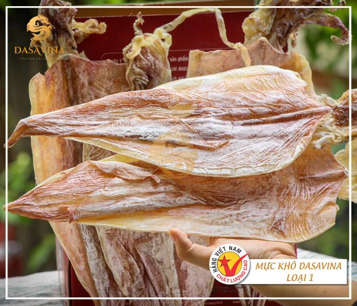 Mực khô Cô Tô DASAVINA - thương hiệu mực khô chất lượng, ngon bậc nhất tại Việt Nam