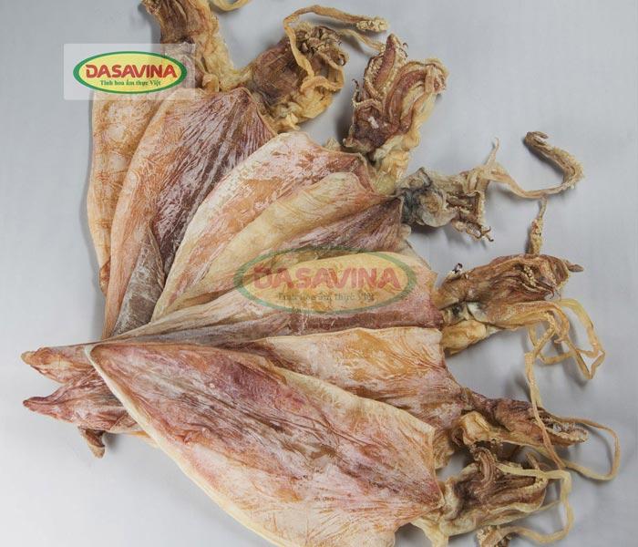 Mực khô Cô Tô loại 1 thân dày, thịt mực tươi ngon