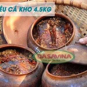Niêu cá kho Bá Kiến 4.5 kg chất lượng đồng đều