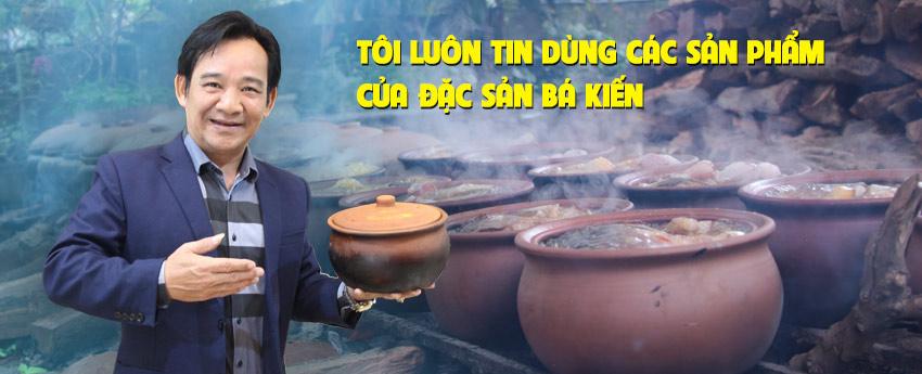 Quang Tèo tin dùng đặc sản Bá Kiến