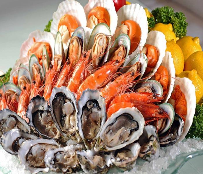Ăn hải sản điều độ sẽ không gây tăng cân