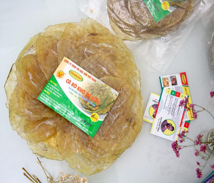 Cá bò khô thương hiệu Bá Kiến luôn đảm bảo về chất lượng, uy tín cũng như giá thành phải chăng trên thị trường