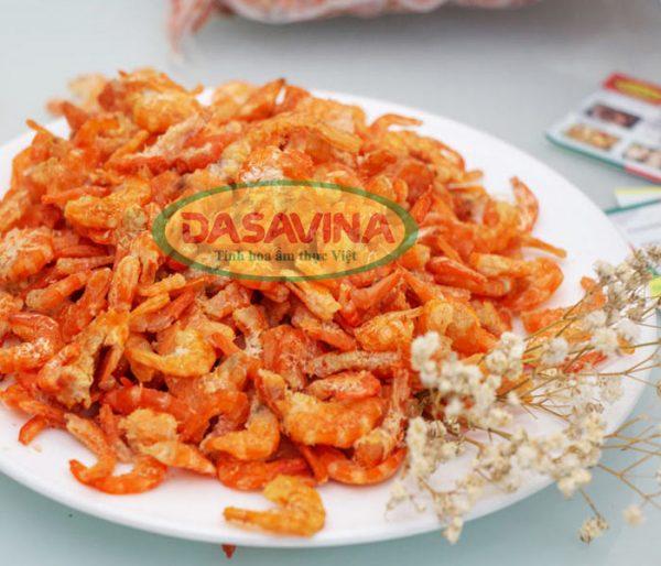 Tôm khô Bá Kiến có hương vị đặc trưng, ngọt thơm tự nhiên
