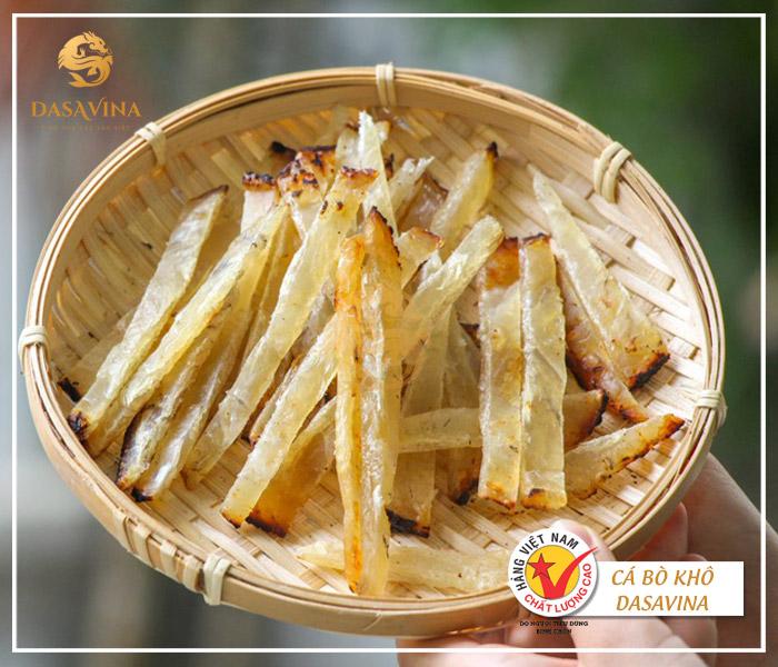 Cá bò khô nướng - món ăn thơm ngon mà dễ dàng chế biến