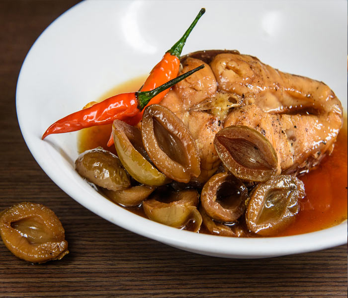 Hương vị đặc trưng của món cá kho trám hấp dẫn đến mê mẩn