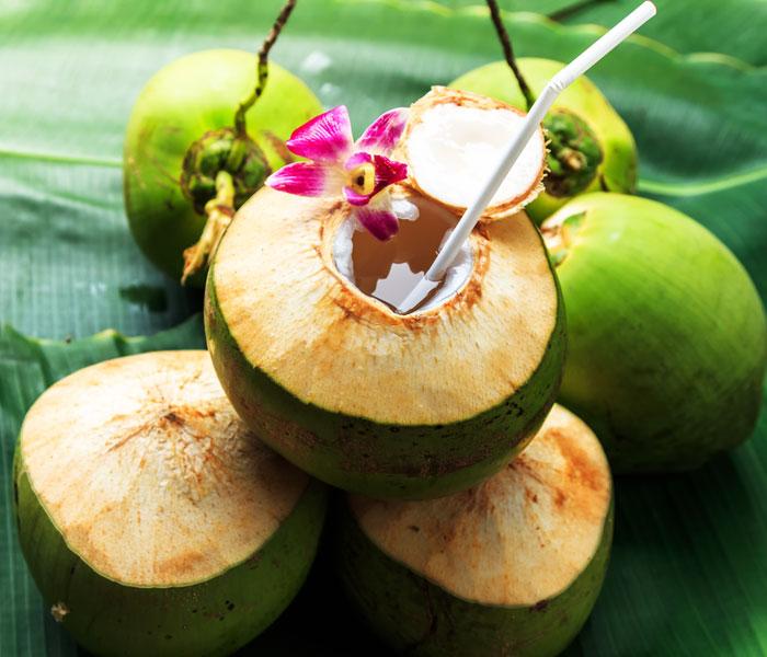 Nước dừa tạo ra vị ngọt  thanh mát cho món cá kho