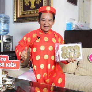 Nghệ sĩ Quang Tèo đánh giá cao chất lượng đặc sản Chả rươi Bá Kiến