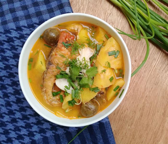 Món cá bò nấu canh chua hấp dẫn, đưa cơm