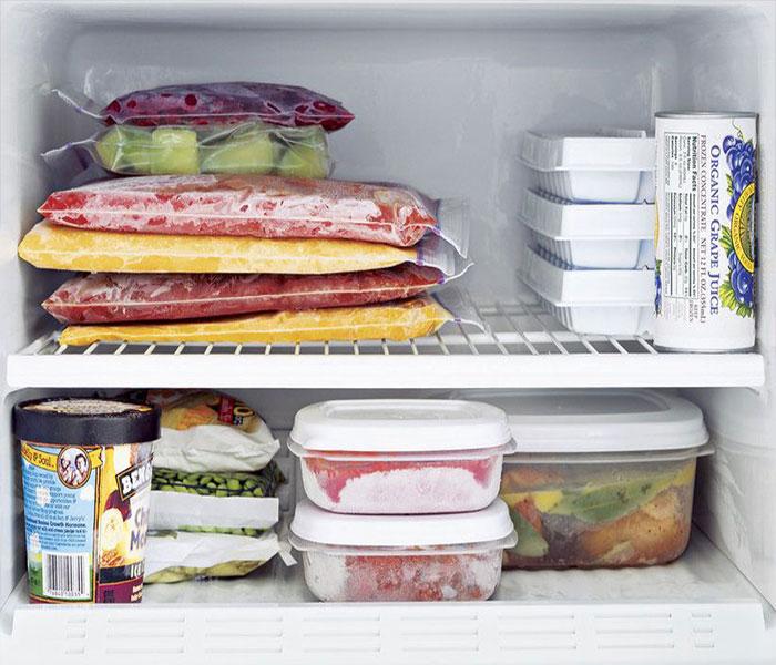 Bảo quản mực một nắng trong ngăn đá tủ lạnh