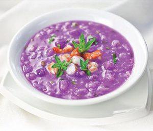 Canh khoai mỡ tôm khô hấp dẫn