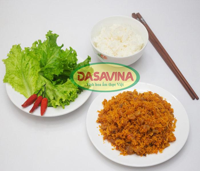Ruốc tôm - món ăn đưa cơm được nhiều người yêu thích
