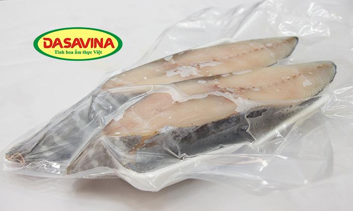 Cá thu một nắng thương hiệu Bá Kiến được hút chân không bảo quản cẩn thận