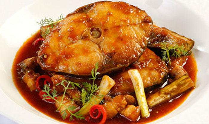 Nhiều món ngon được chế biến từ cá thu một nắng ăn là nghiền