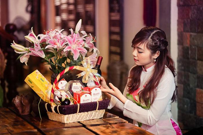 Nhiều dịch vụ quà Tết uy tín, chất lượng phục vụ khách hàng