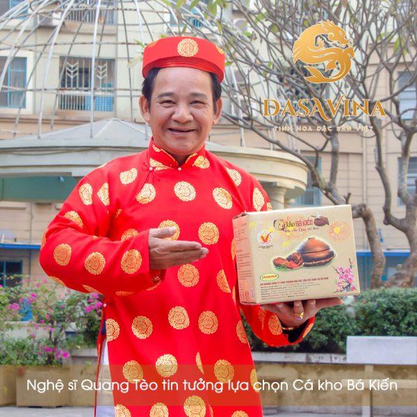 Nghệ sĩ Quang Tèo lựa chọn cá Kho Bá Kiến