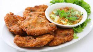 Chả cá chiên - nguyên liệu chế biến được nhiều món ăn ngon