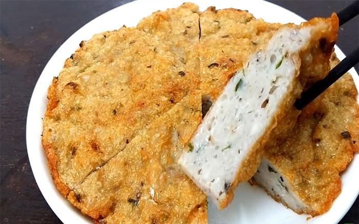 Thành phẩm chả cá trôi giòn dai, thơm ngon, ăn đưa cơm
