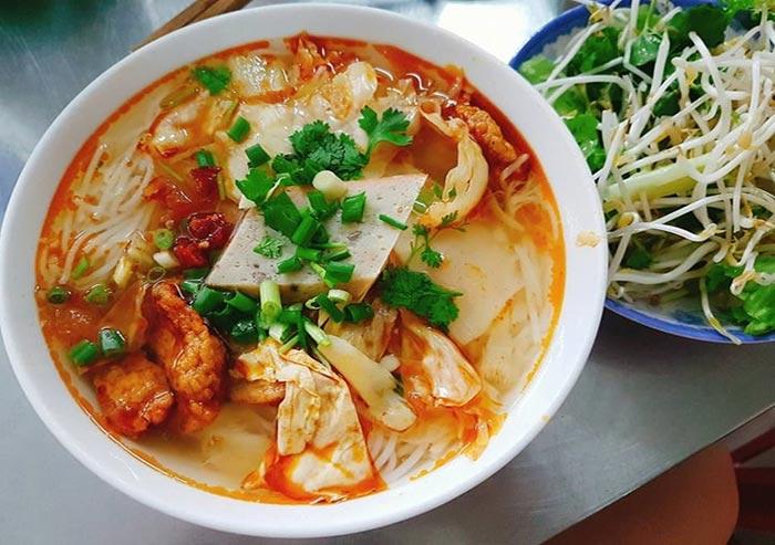 Công thức nấu bún chả cá miền Trung chuẩn vị