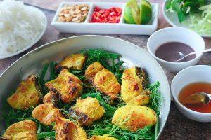 Chả cá Lã Vọng - món ăn nổi tiếng của người Hà thành