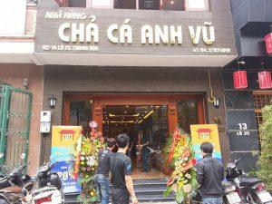Nhà hàng chả cá Anh Vũ