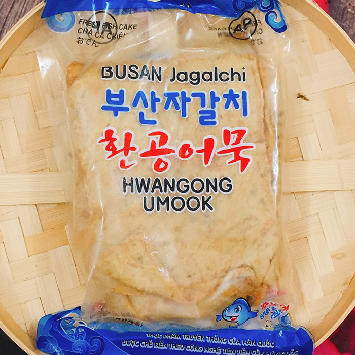 Chả cá Hàn Quốc giàu dinh dưỡng và có hương vị thơm ngon