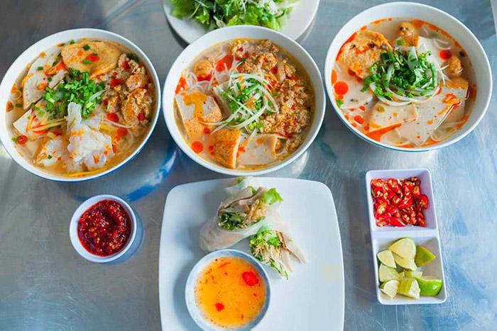 Bún chả cá Quy Nhơn - món ăn đậm đà, ngon ngọt