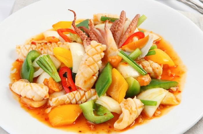 Sự kết hợp hảo giữa mùi vị, màu sắc và nguyên liệu trong một món ăn