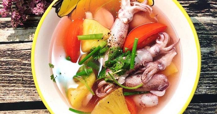 Món ăn đơn giản với ống mà lại vô cùng thơm ngon