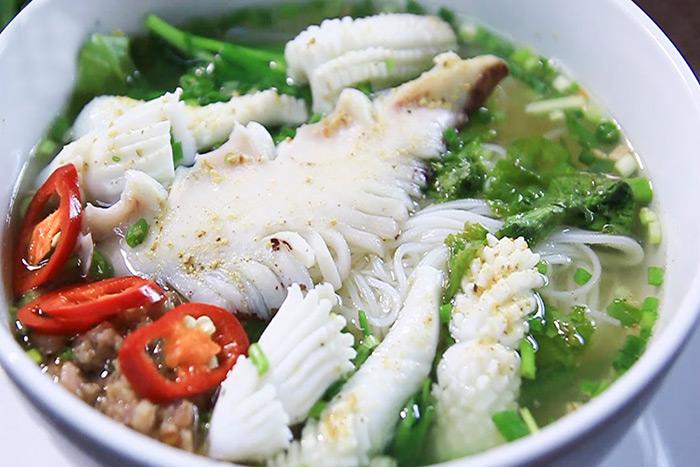 Thái mực ống với nhiều hình dáng đa dạng giúp món ăn thêm ngon miệng